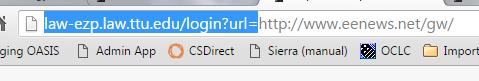ez proxy url line