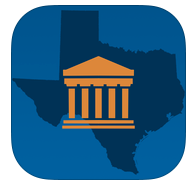 texas opencourts app icon