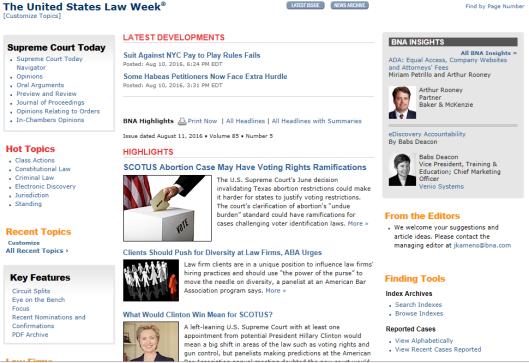 Case Alert &Legal News