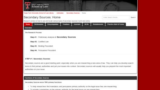 secondarysources