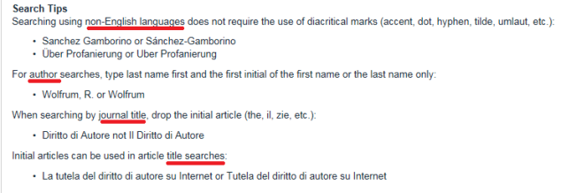 search-tips