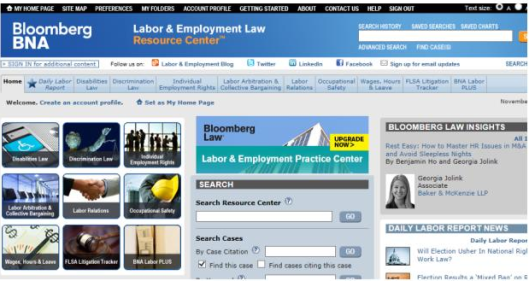 employment home page