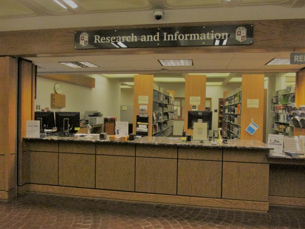 What can I get at the Circulation desk?