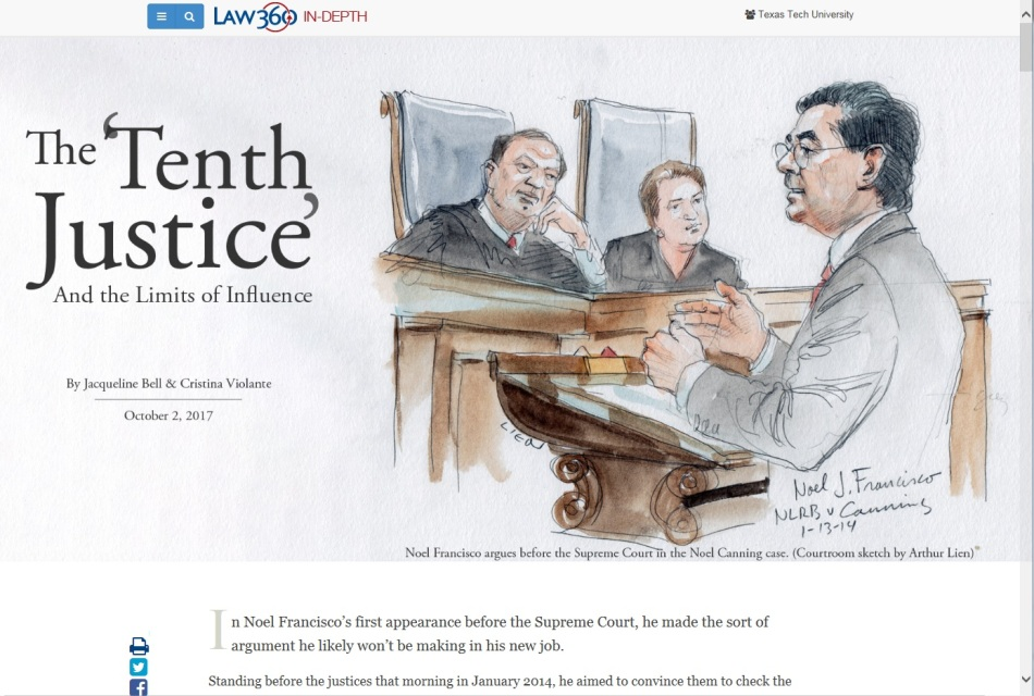 3. Law 360 News Analysis Article
