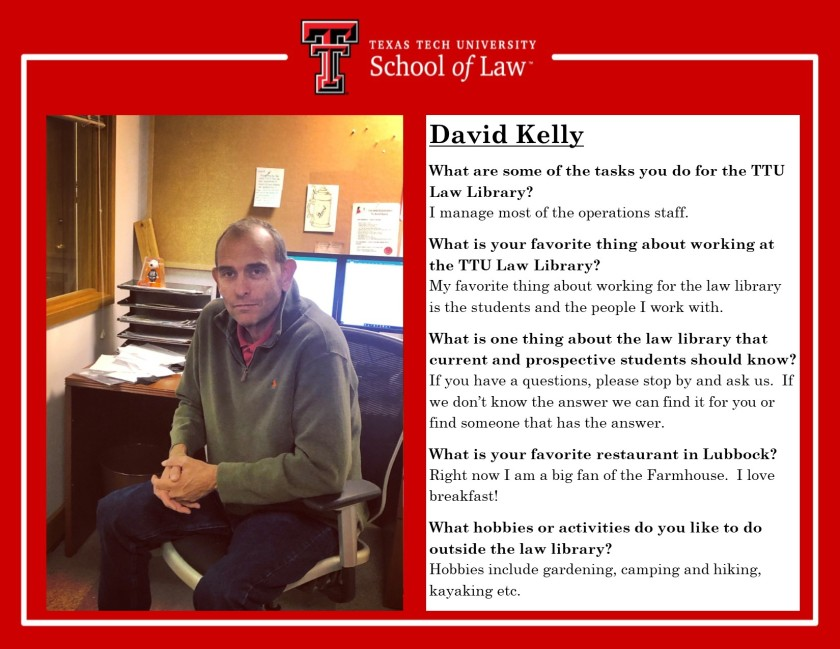 Staff Spotlight David